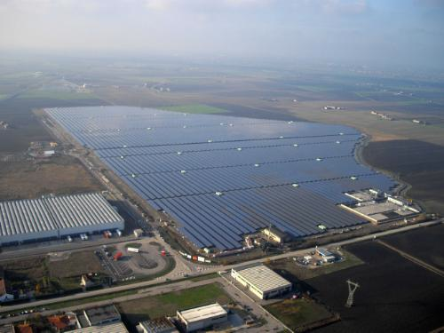 sunedison-solar-power, Venice, italy