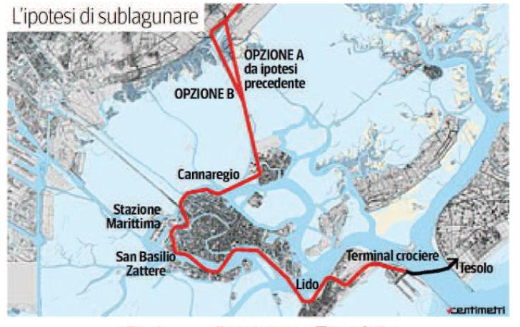 President of Venice port authority proposes underground ... on map of roatan port, map of san francisco port, map of ocho rios port, map of livorno port, map of san pedro port, map of san juan port, map of civitavecchia port, map of fort lauderdale port, map of oakland port, map of charleston port, map of grand cayman port, map of salerno port, map of west palm beach port, map of long beach port, map of honolulu port, map of granada port, map of new york city port, map of dubrovnik port, map of savannah port, map of ft lauderdale port,