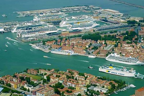 Venice cruise ship port